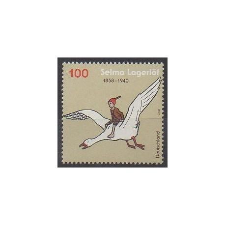 Allemagne - 2008 - No 2530 - Littérature