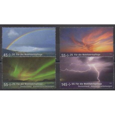 Allemagne - 2009 - No 2534/2537 - Sciences et Techniques