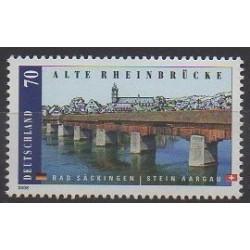 Germany - 2008 - Nb 2516 - Bridges