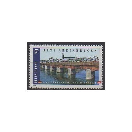 Allemagne - 2008 - No 2516 - Ponts