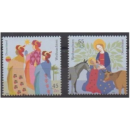 Allemagne - 2007 - No 2452/2453 - Noël