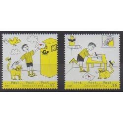 Allemagne - 2007 - No 2422/2423 - Service postal