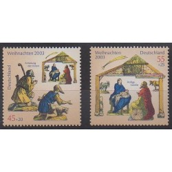 Allemagne - 2003 - No 2198/2199 - Noël