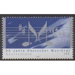 Allemagne - 2003 - No 2174 - Musique