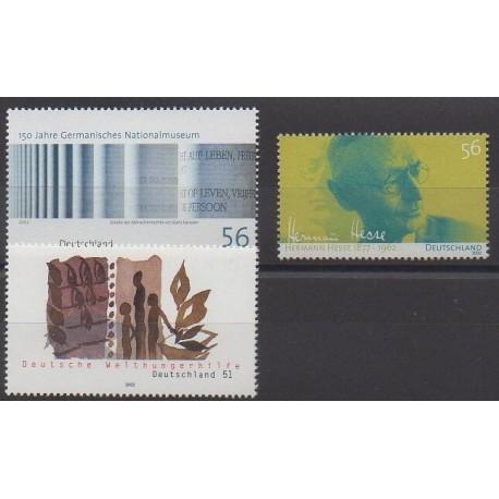 Allemagne - 2002 - No 2097/2099