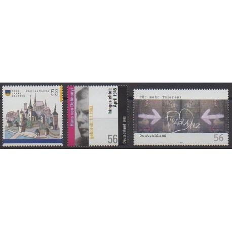 Allemagne - 2002 - No 2064/2066