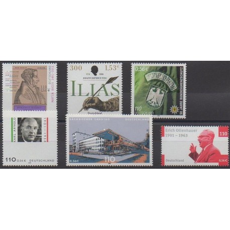 Allemagne - 2001 - No 2001/2006
