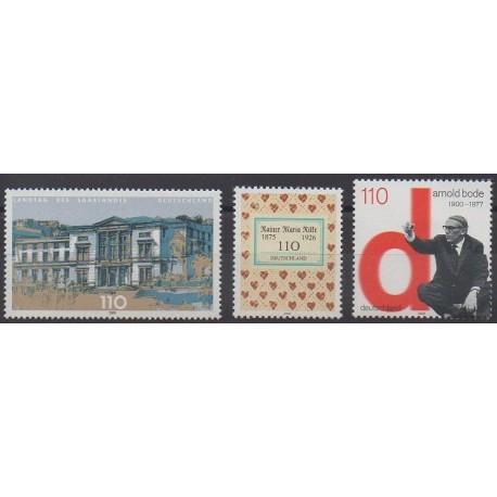 Allemagne - 2000 - No 1985/1987