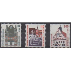 Allemagne - 2000 - No 1972/1974 - Monuments