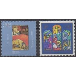Allemagne - 2000 - No 1983/1984 - Noël