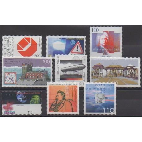 Allemagne - 2000 - No 1956/1964