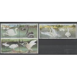 Man (Ile de) - 1991- No 512/517 - Oiseaux