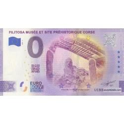 Euro banknote memory - 2A - Filitosa - Musée et site préhistorique corse - 2021-2