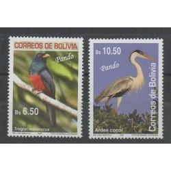 Bolivie - 2007- No 1291/1292 - Oiseaux