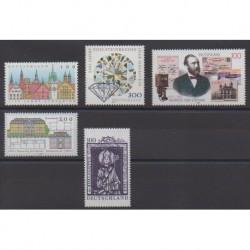Allemagne - 1997 - No 1742/1746