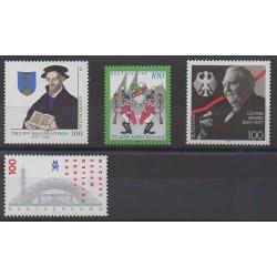 Allemagne - 1997 - No 1734/1737