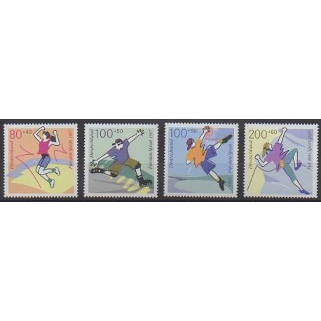 Allemagne - 1997 - No 1730/1733 - Sports divers