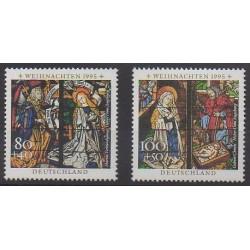 Allemagne - 1995 - No 1663/1664 - Noël