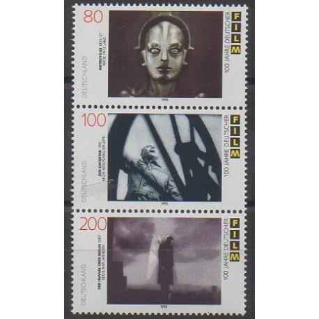Allemagne - 1995 - No 1647/1649 - Cinéma
