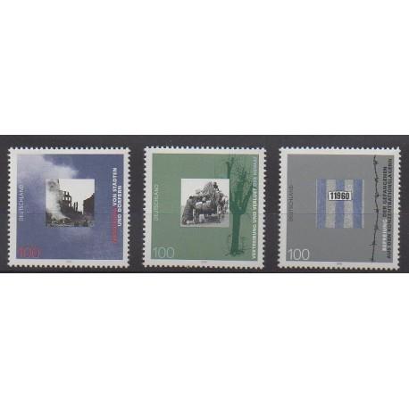 Allemagne - 1995 - No 1626/1628 - Seconde Guerre Mondiale