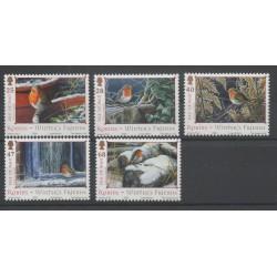 Man (Ile de) - 2004- No 1199/1203 - Oiseaux
