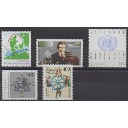 Allemagne - 1995 - No 1634/1638