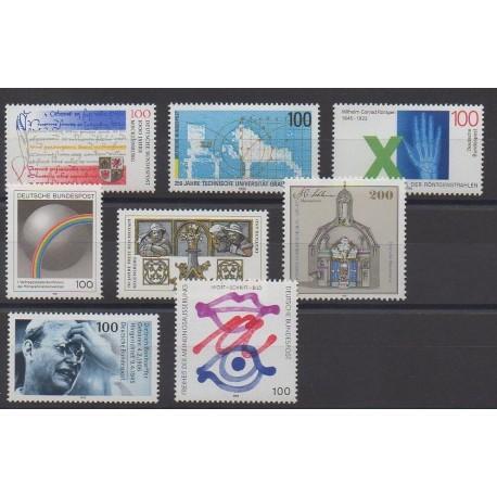 Allemagne - 1995 - No 1614/1621