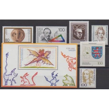 Allemagne - 1994 - No 1582/1588