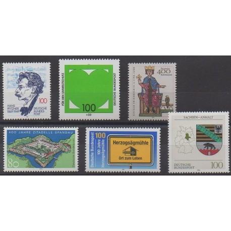 Allemagne - 1994 - No 1565/1570