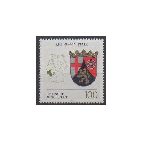 Allemagne - 1993 - No 1527 - Armoiries