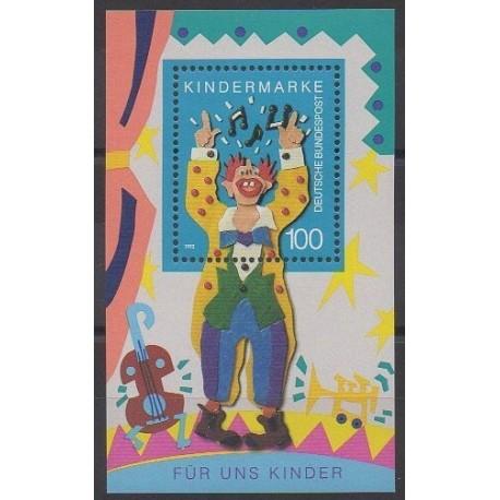 Allemagne - 1993 - No BF26 - Enfance - Cirque ou magie
