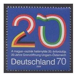 Allemagne - 2009 - No 2584 - Histoire