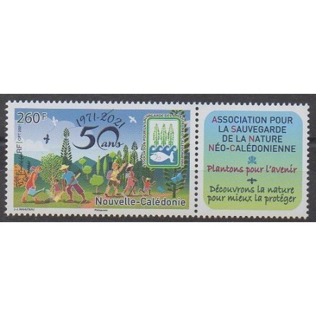Nouvelle-Calédonie - 2021 - Sauvegarde de la nature - Environnement