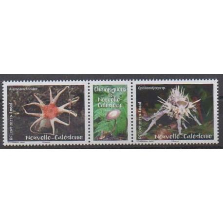 Nouvelle-Calédonie - 2021 - No 1405/1406 - Champignons