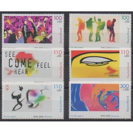 Allemagne - 2000 - No 1950/1955 - Exposition - Peinture