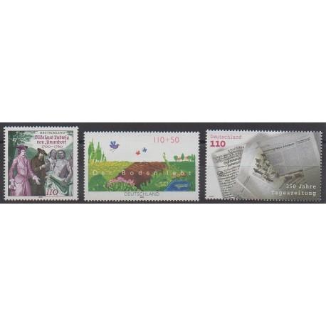 Allemagne - 2000 - No 1947/1949