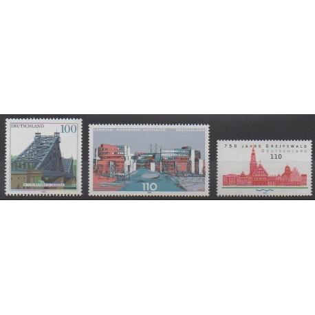 Allemagne - 2000 - No 1942/1944 - Monuments