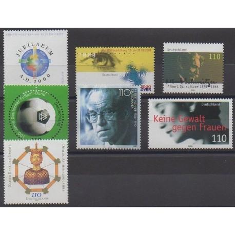 Allemagne - 2000 - No 1919/1925