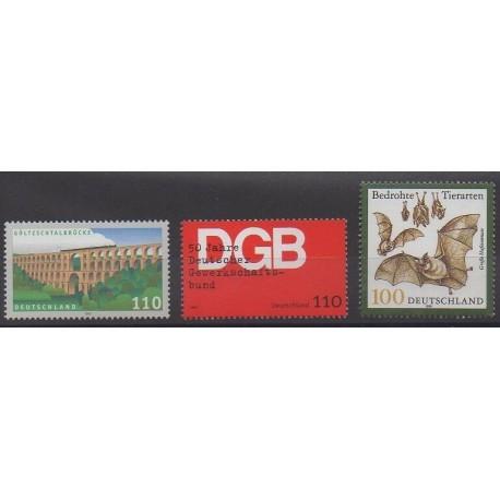 Allemagne - 1999 - No 1914/1916