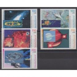Allemagne - 1999 - No 1909/1913 - Astronomie