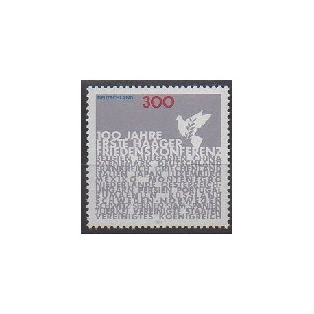 Allemagne - 1999 - No 1898 - Histoire