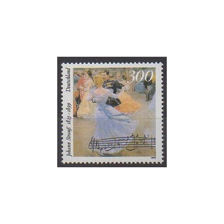 Allemagne - 1999 - No 1893 - Musique