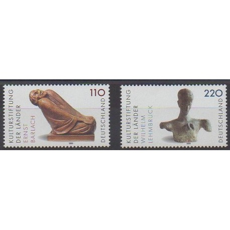 Allemagne - 1999 - No 1895/1896 - Art