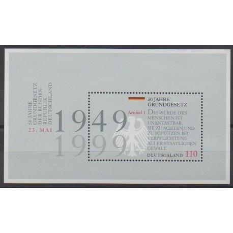 Allemagne - 1999 - No BF47 - Histoire
