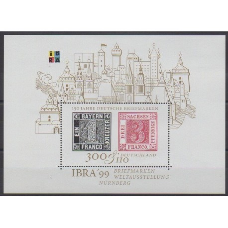 Allemagne - 1999 - No BF45 - Timbres sur timbres