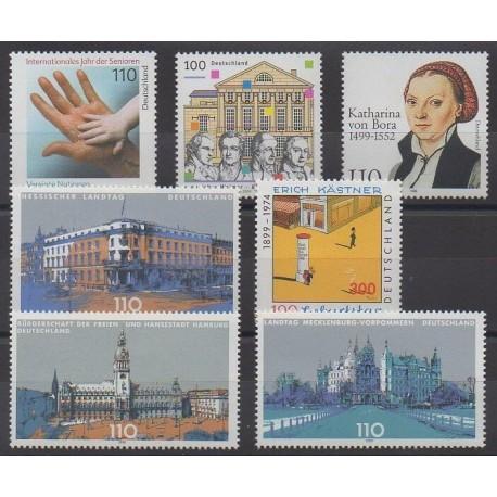 Allemagne - 1999 - No 1859/1862 - 1867/1869