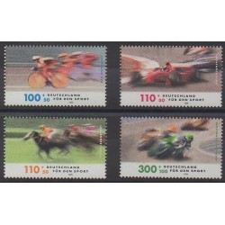 Allemagne - 1999 - No 1863/1866 - Sports divers