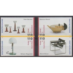 Allemagne - 1998 - No 1833/1836 - Art