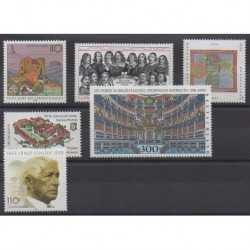 Allemagne - 1998 - No 1810/1811 - 1813/1816