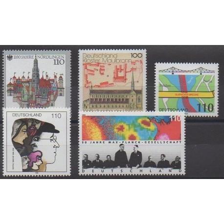 Allemagne - 1998 - No 1797/1799 - 1804/1805